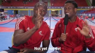 Athletes Reporting Episode 1 - Lutalo Muhammad & Mahama Cho