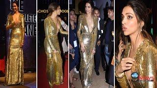 OOPS…ये क्या! दीपिका के गाउन ने कर दी दगाबाज़ी…!! | Deepika Padukone Spotted Almost Embarrassed