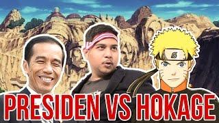 Menjawab Jokowi Tentang Naruto Yang Tidak Demokratis Dan Rasis
