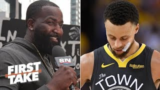Kendrick Perkins' criticism of Steph Curry in big moments is money - Max Kellerman  | First Take
