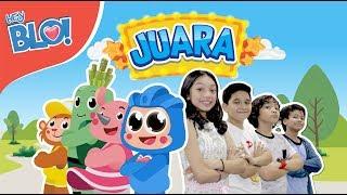 JUARA (Lyric Video) - OST. Film Naura & Genk Juara   HEY BLO!