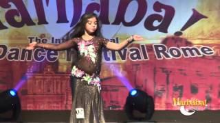 Kamil Baby Belly Dance - Miss BD Italy 2015 - Marhaba Rome Festival 9