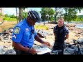Harassed by Police for Cleaning up the River.... (Unbelievable) | Jiggin