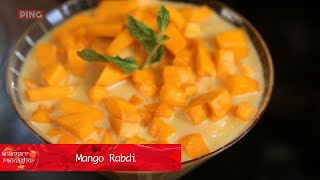 How to make Bengali Aam Kheer (Mango Rabdi) by Ananya Banerjee || Ananya-r Rannaghor