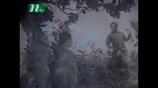 RAZZAK & SHABANA on BANGLA MOVIE ABHAGEE - Maiya Purush Duijonai