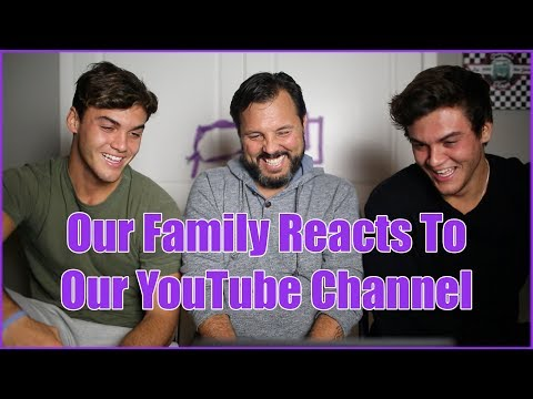 Xxx Mp4 OUR FAMILY REACTS TO OUR VIDEOS 3gp Sex