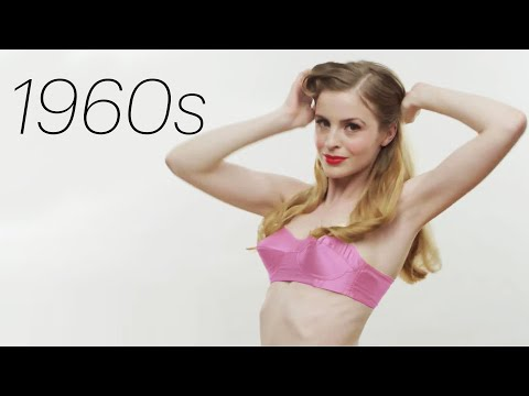 100 Years of Bras Glamour