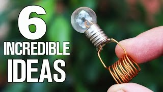 6 simple ideas and Life Hacks