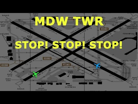 watch [REAL ATC] Delta and Southwest VERY CLOSE CALL on takeoff