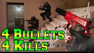 4 Shot, 4 kills - Rainbow Six Siege