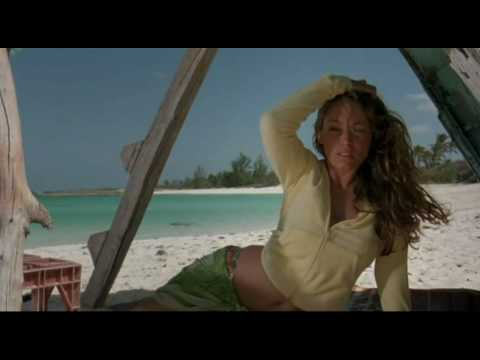 Kelly Brook hot sexy in Three Survival Island