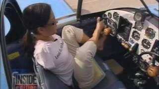 Pilot Jessica Cox on Inside Edition