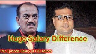 CID: Shocking!!! Huge salary difference between Shivaji Satam and Dayanand Shetty