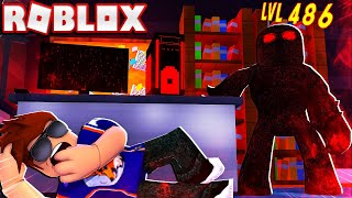 TRAPPED IN A ROOM WITH A LEVEL 400+ BEAST! -- ROBLOX Flee The Facility Challenge