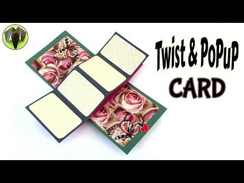 Xxx Mp4 Twist POPUP Card DIY Tutorial By Paper Folds ❤️ 3gp Sex