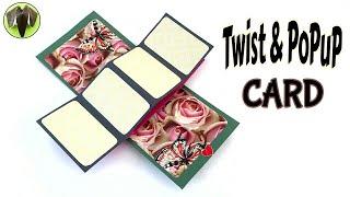 Twist & POPUP Card
