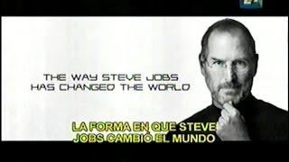 """STEVE JOBS  (programa """"INNOVADORES"""", canal 22)"""
