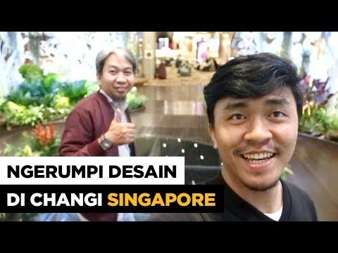 """Ngerumpi Desain """"Desainer Web Wajib Bisa Coding"""" di Changi Singapura"""