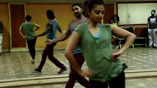 Radhika Apte Hot And Terence Lewis Hot Dance Rehearsal