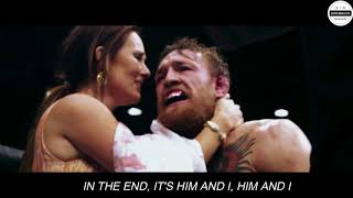 """""""The Notorious"""" Conor McGregor and Dee Devlin- """"Him & I- G Eazy ft Halsey"""" (VIDEO+LYRICS)"""
