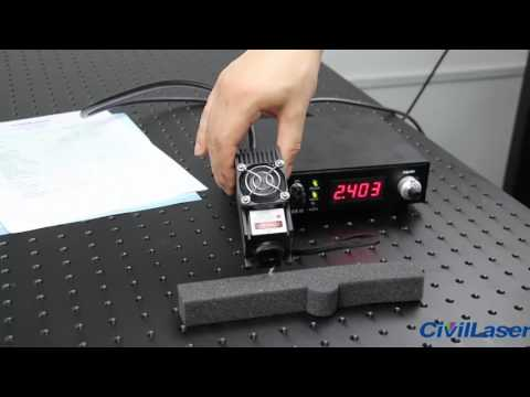 808nm Semiconductor laser 2000mw with power supply Modulation is TTL or Analog