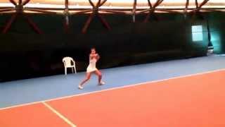 Michela Isella - Tennis College Recruiting Video 2.0