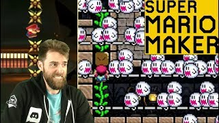 Don't Overthink It... CHEESE IT! // Twitter Levels! [SUPER MARIO MAKER]