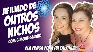 🍒 Como TRABALHAR COMO AFILIADO em OUTROS NICHOS   Entrevista com Simone Reis
