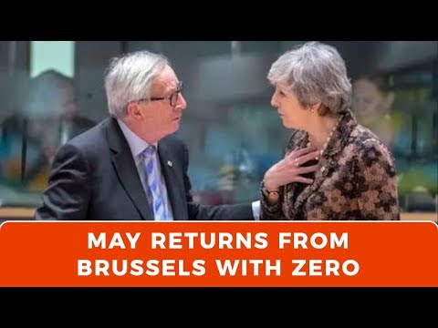 Xxx Mp4 Theresa May Goes To Brussels And Comes Back With A Big Fat Donut 3gp Sex