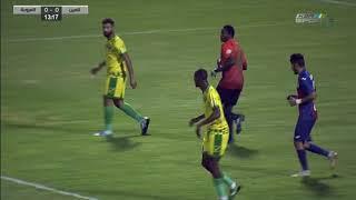مباراة  العين  X العروبة دوري الأمير محمد بن سلمان لأندية الدرجة الاولى -الجولة (9)