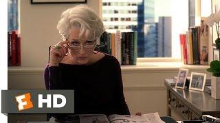 The Devil Wears Prada (2/5) Movie CLIP - Andy's Interview (2006) HD