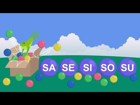 Xxx Mp4 Silabas Sa Se Si So Su Silabas Simples Video Educativo Infantil 3gp Sex