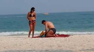 ฝรั่งพรอดรักหาดทรายแก้ว เกาะเสม็ด ระยอง
