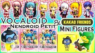 Vocaloid Nendroid Petit Surprise Blind Boxes & Kakao Friends Mini Figures