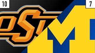 Oklahoma State vs. Michigan Prediction | Who