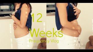 12 Week Pregnancy Vlog + Baby Bump +Sex talk