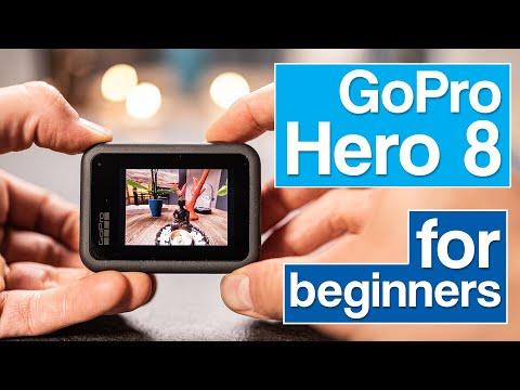 GoPro Hero 8 for beginners user guide english tutorial