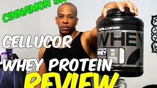 CELLUCOR WHEY PROTEIN CINNAMON SWIRL REVIEW
