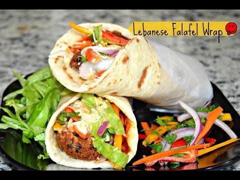 Xxx Mp4 How To Make Lebanese Wrap Falafel Wrap Lebanese Veggie Wrap Pita Veggie Wraps 3gp Sex