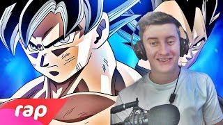 REACT Rap do Goku e Vegeta (Dragon Ball Super) - O HOMEM MAIS FORTE DO UNIVERSO   NERD HITS