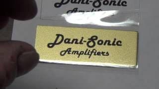 How to Make Custom Amp Logos and Labels