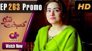Pakistani Drama | Kambakht Tanno - Episode 263 Promo | Aplus ᴴᴰ Dramas | Tanvir Jamal, Sadaf Ashaan