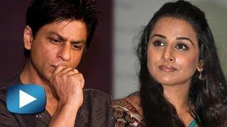 Shahrukh Khan Is Hurt With Vidya Balan's Comment on 'Khans' - क्या शाहरुख़ विद्या से हैं नाराज़