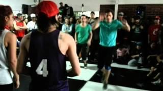 Ricardo y Ardax vs Soulprendente y Nini House dance Cypher free 20 0ctubre 2012