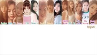 WJSN / COSMIC GIRLS (우주소녀) - Secret (비밀이야) [Color Coded Lyrics]