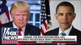 Obama rips Trump decision to leave Iran deal