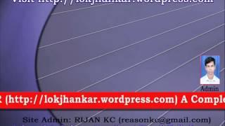 Kaslai Sodhne Hola_Nepali Lok Jhankar