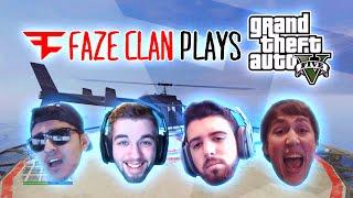 FAZE CLAN PLAYS GTA 5 Online (Funny Moments)