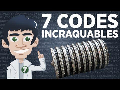 7 codes indéchiffrables