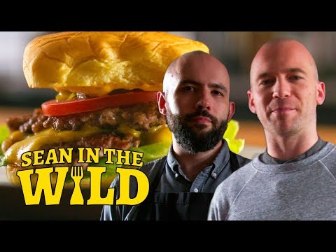 Binging with Babish Cooks the Perfect Smashed Burger   Sean in the Wild